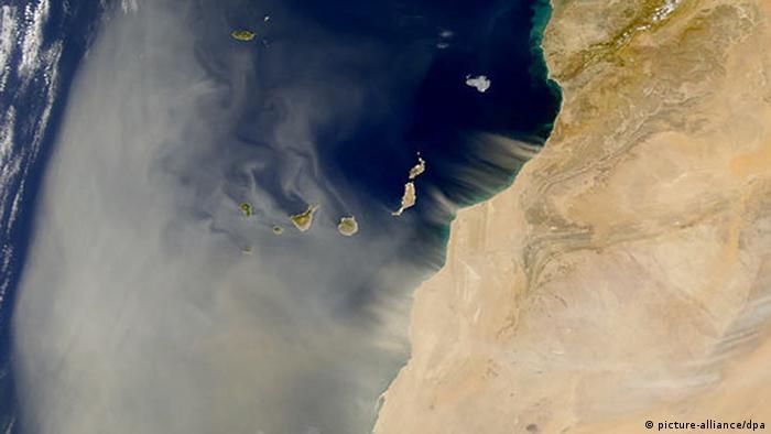 Saharastaub (picture-alliance/dpa)