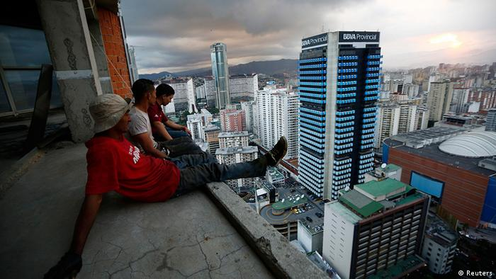 Venezuela Hochhaus Slum in Caracas Tower of David