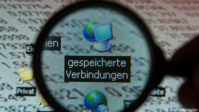 Diskussion um Vorratsdatenspeicherung