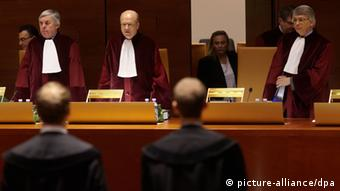 The judges at the court (photo: Thomas Frey dpa/lrs)