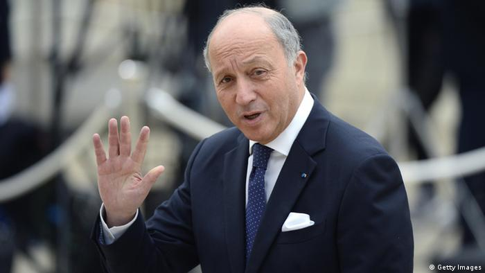 Laurent Fabius, ministro de Relaciones Exteriores de Francia.