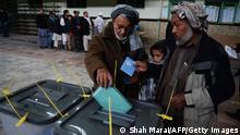 Afghanistan Präsidentschaftswahl 2014