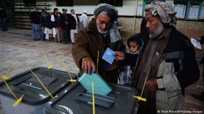 Afghanistan Präsidentschaftswahl 2014 (Shah Marai/AFP/Getty Images)