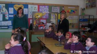 Unterricht in in der Sv. Kliment Ohridski-Schule