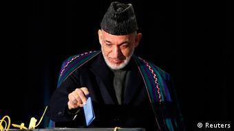Präsidentschaftswahl Afghanistan Hamid Karzai