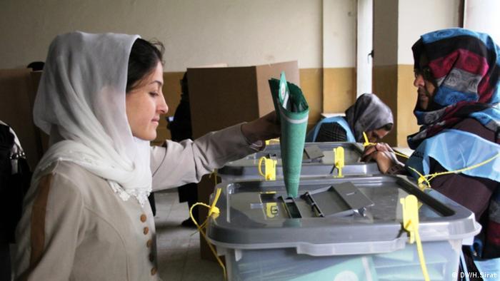 Afghanistan Kabul Präsidentschaftswahl 2014