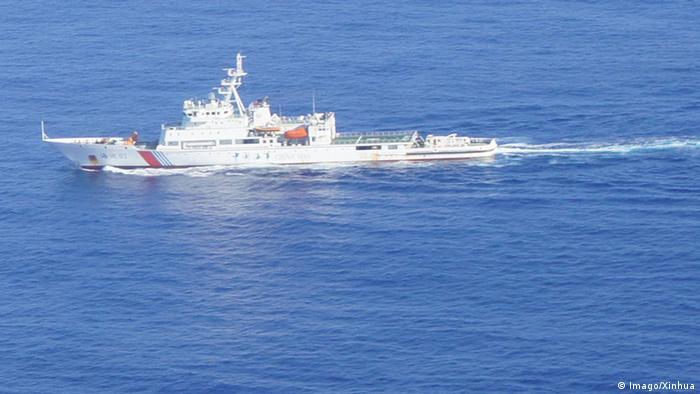 MH 370 Flug Malaysia Airlines Chinesisches Schiff empfängt Signal (Imago/Xinhua)