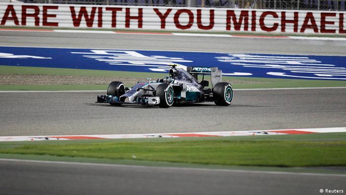 Bahrain F1 Grand Prix Nico Rosberg