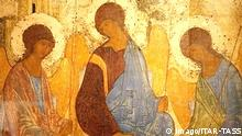 Bild Die Heilige Dreifaltigkeit von Andrej Rubljow