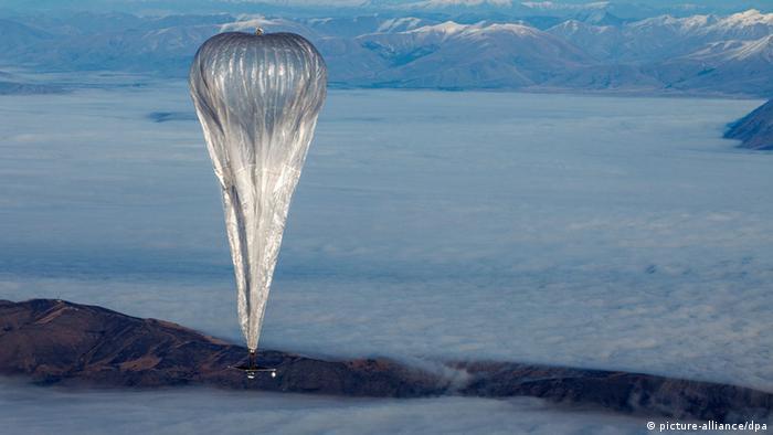 Google Ballon I-167