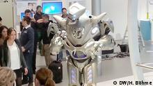 Roboter am Stand von Siemens auf der Hannover Messe 2014