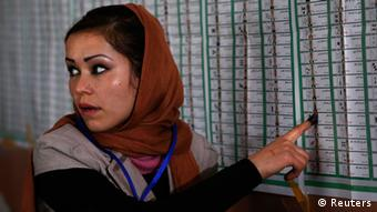 Afghanistan Präsidentschaftswahl Wahlen Frau