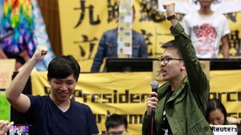 Taiwan Lin Fei-fan Parlament Rede 06.04.2014