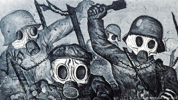 Война, Отто Дикс, 1924 год