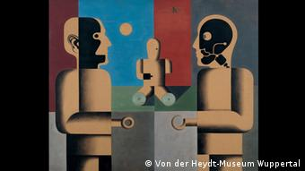 Ausstellung Menschenschlachthaus Heinrich Hoerle