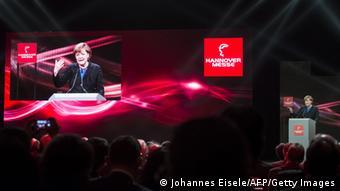 Industriemesse Hannover Merkel Eröffnung Rede