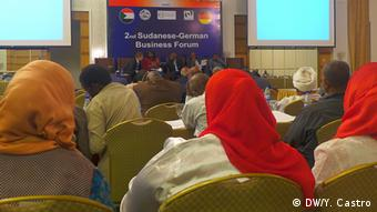 The audience at the German-Sudanese economic forum (Photo: DW/Yamila Castro)