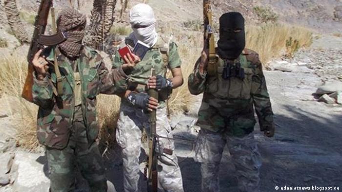 جنگجویان جیشالعدل در مرز ایران و پاکستان