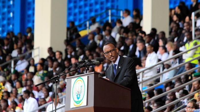 Paul Kagame acusou duramente a França de responsabilidade no massacre
