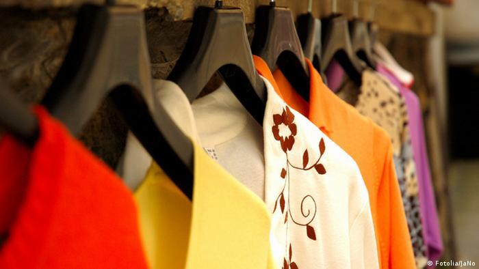 Symbolbild Mode Kleidung (Fotolia/JaNo)