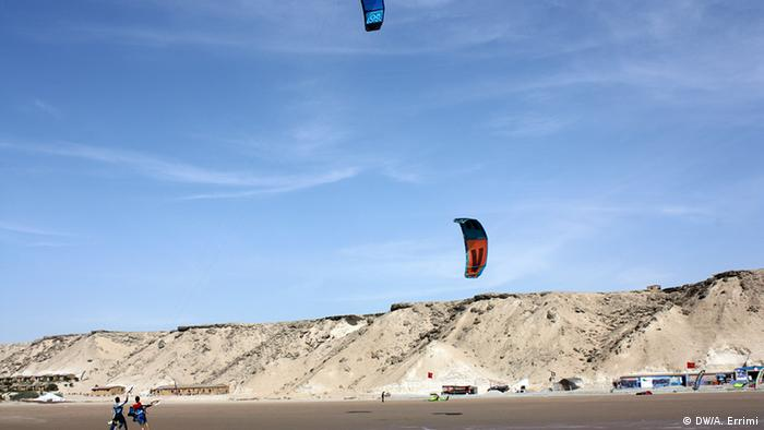 Marokko Kitesurfen Weltmeisterschaft in Dakhla