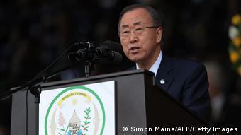 Ruanda Genozid Gedenkfeier 07.04.2014 Ban Ki-Moon