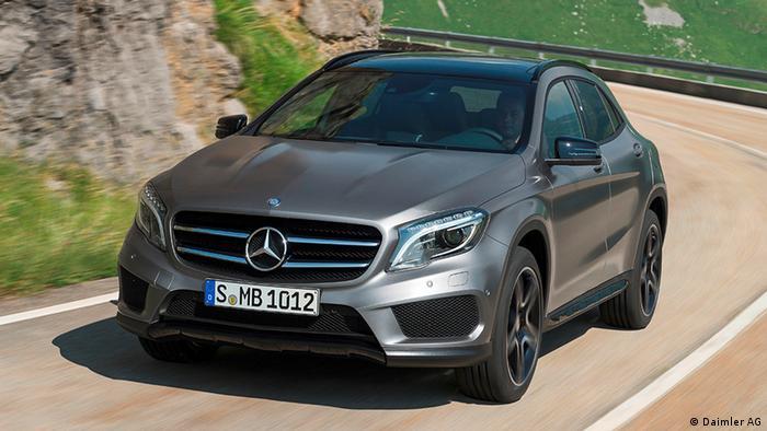 Deutschland Auto Mercedes-Benz GLA 250 4MATIC