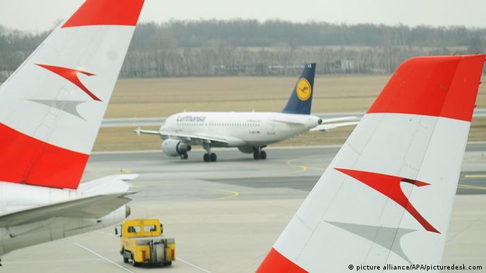 Lufthansa und Austrian Airlines