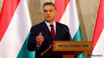 Ungarns Ministerpräsident Viktor Orban (Foto: Reuters)
