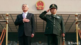 USA Chuck Hagel in China 8. April 2014