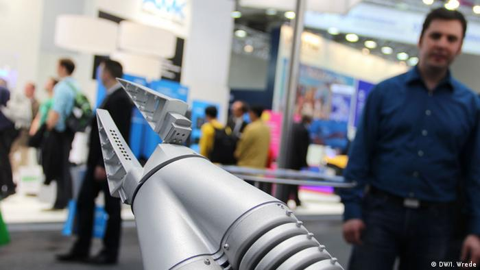 Hannovermesse Roboterarm 2014