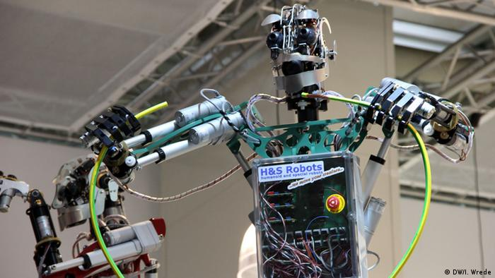 Hannovermesse Roboter 2014