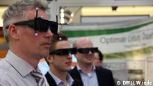 3-D Simulation, Hannovermesse Foto: DW/Insa Wrede 2014