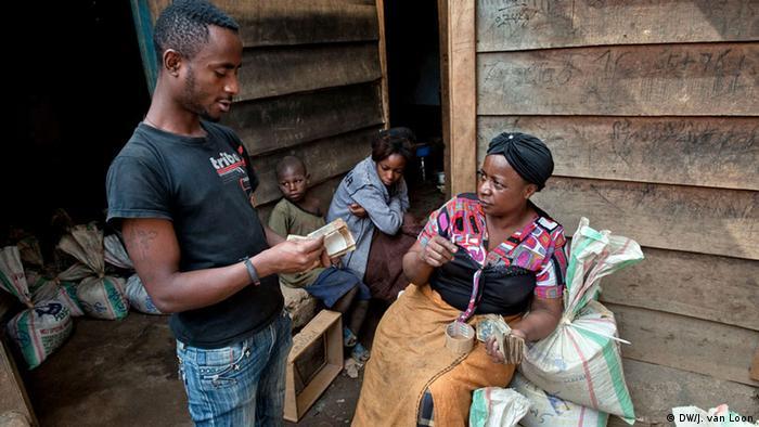 Konfliktfreie Kalimbi-Mine Kongo