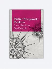 Buchcover Walter Kempowski: Plankton (2014)