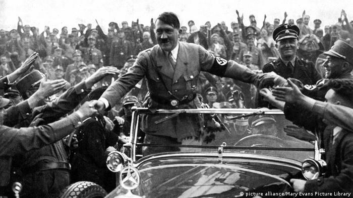 Adolf Hitler Nürnberg 1933 Auto Anhänger