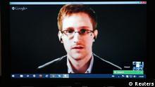 Europarat Edward Snowden Videoschalte 08.04.2014