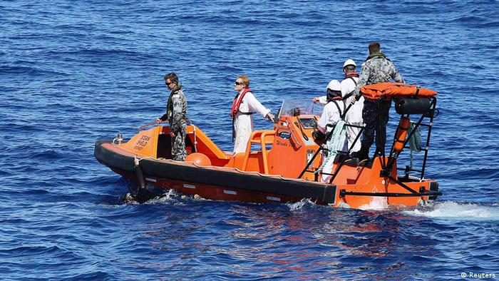 Flug MH370 Suche nach Blackbox 09.04.2014