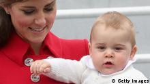 Bildergalerie Prinz George, Catherine und William in Neuseeland und Australien