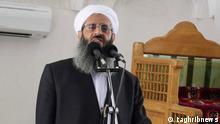 Beschreibung: sunnitischer Geisticher in der iranischen Südostprovinz Sistan und Belutschistan. Lizenz: frei (iranische Internetseite www.taghribnews.com) http://www.taghribnews.com/images/docs/000076/n00076233-b.jpg