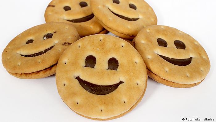 Bolacha de sorriso