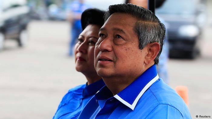 Indonesien Wahlen Parlamentswahlen Präsident Susilo Bambang Yudhoyono (Reuters)