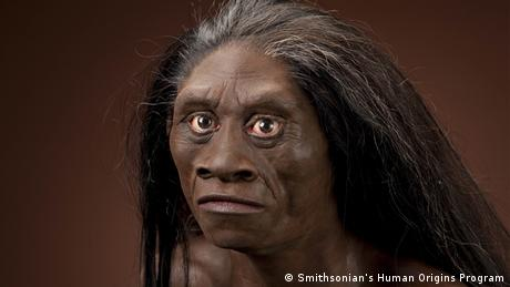 Homo floresiensis (Photo: Smithsonian's Human Origins Program)