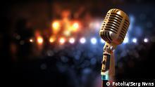 #53279590 - audio microphone retro style ©Fotolia/ Serg Nvns