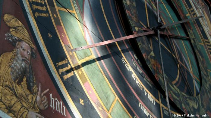 Астрономические часы в храме Николая Чудотворца в Штральзунде