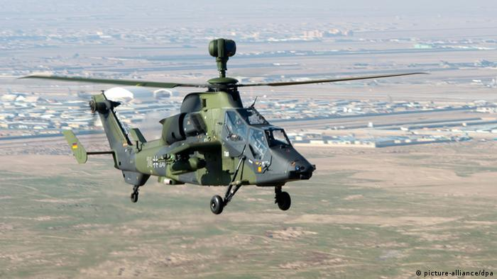 Kampfhubschrauber Tiger Bundeswehr Afghanistan