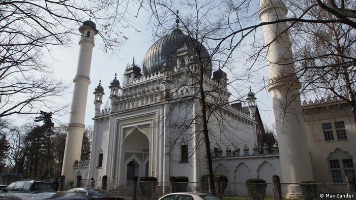 Die älteste Moschee Deutschlands ist dem Taj Mahal nachempfunden