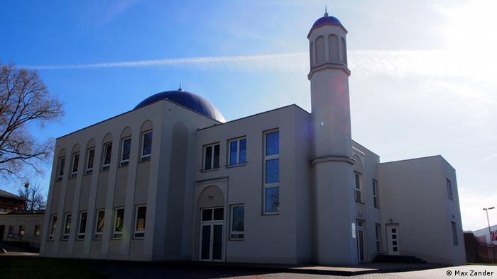 Die Khadija-Moschee verzichtet auf prachtvolle Verzierungen