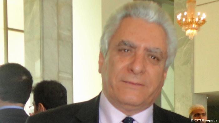 Algerien Interview Mustafa Bouchachi (DW/T.Bougaada)