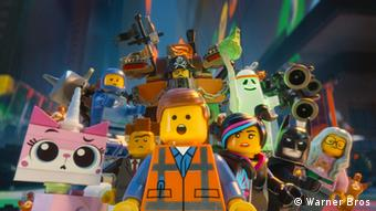 A still shot from the 2014 Lego Movie